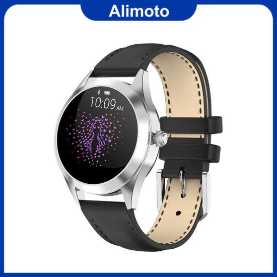 Alimoto Waterproof Heart Rate Monitor Fitness Tracker Women Smart Watch