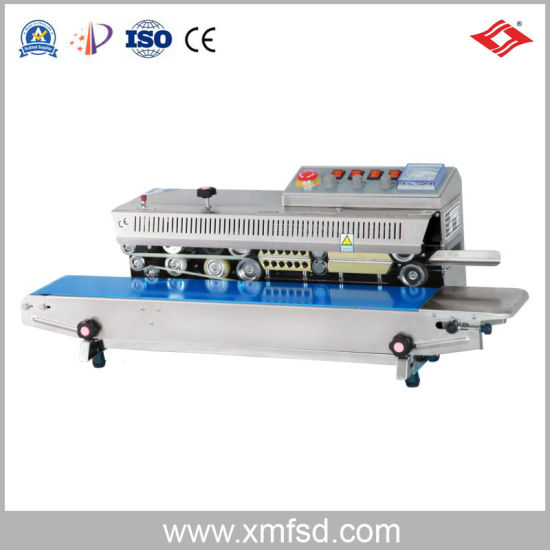 Frbm-810I China Factory Ink Wheel Color Printing Continuous Sealing Machine