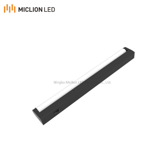 OEM Manufacturer Induction Battery Operated Motion Sensor LED Cabinet Wardrobe Light with Rechargeable USB