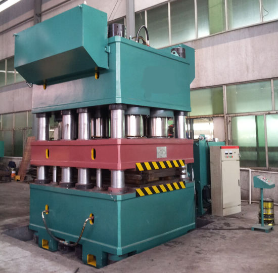 Steel Door Hydraulic Press / Four Column Hydraulic Machine pictures & photos