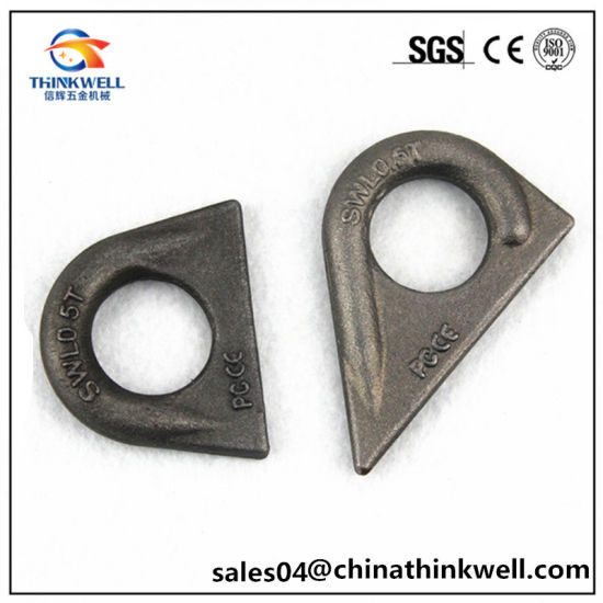 China forged customized rigging carbon steel weld on