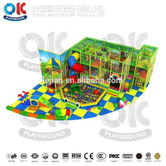 Indoor Playground Kids Indoor Jungle Gym Games Soft Play Area Children Play Equipment