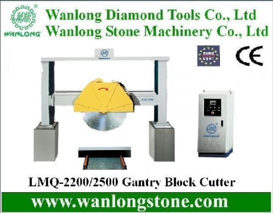 Block Cutting Stone Marble and Granite Machinery Gantry Cutting Machine for Stone Cutting