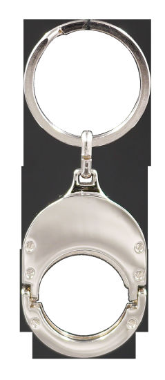 Bespoke Metal Alloy Key Chain with Ring for Promotional Gift