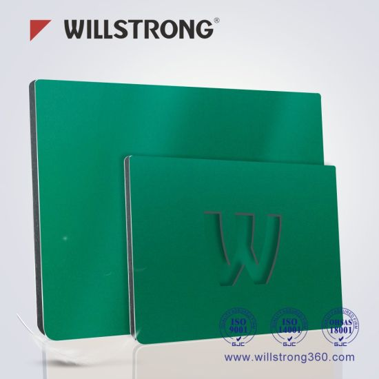 Willstrong Signage Aluminum Composite Panel pictures & photos