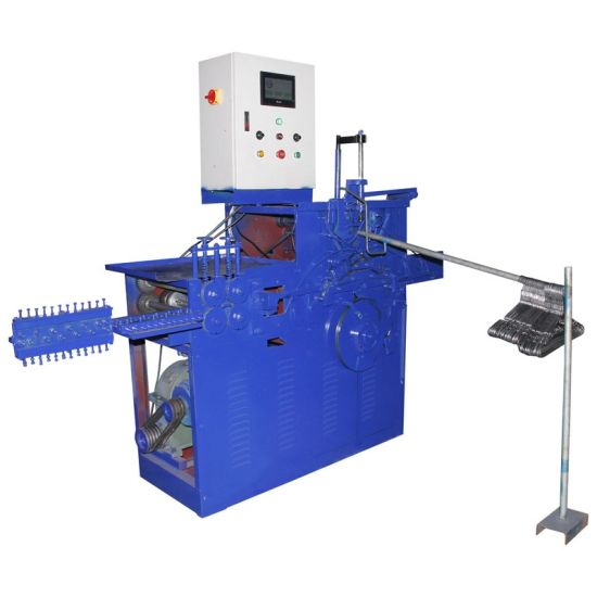 PVC Coated Laundry Wire Hanger Making Machine