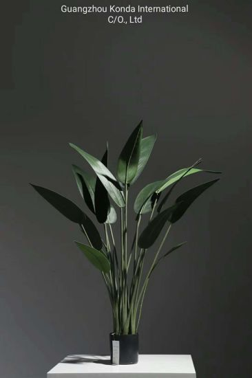 Cheap Indoor Artifical Birds of Paradise 160cm Skybird Plants