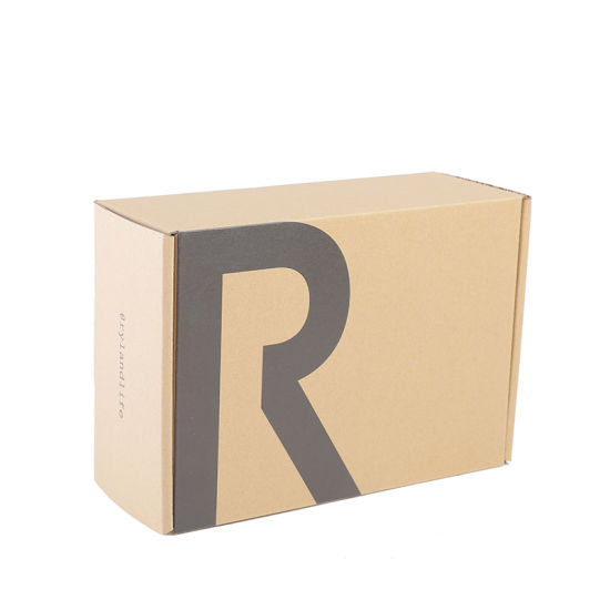 Professional Custom Printed Corrugated Foldable Cardboard Packaging Box Tuck Top Box with Logo