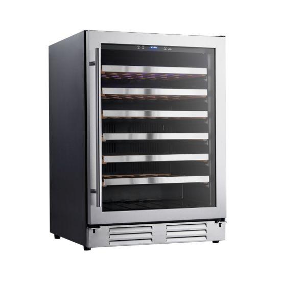 135L 54 Bottles Single Zone Household or Commercial Wine Refrigerator Cooler
