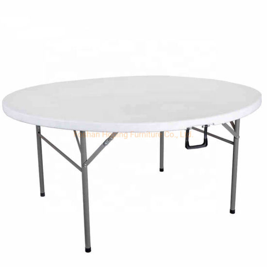 Hotsale Portable 72 Inch Rectangle Plastic Outdoor Camping Picnic Folding Tables pictures & photos