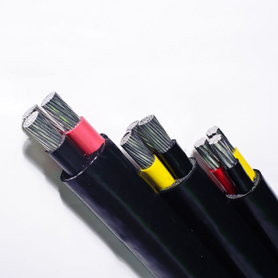 PVC Insulated Waterproof Cable Aluminum Conductor Power Cable pictures & photos
