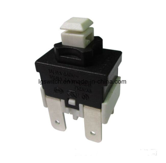 Power 16A 250VAC T125 Pusn on-off Light Micro Rocker Push Button Switch (MPS21) pictures & photos