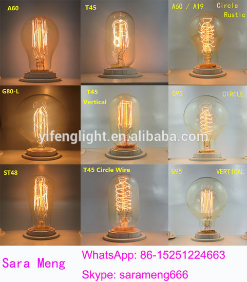 LED Edison Lamp Hot Saleds Edison Lamp Antique Bulbs pictures & photos