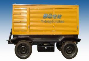 Mobile Trailer Generator/Diesel Generating pictures & photos