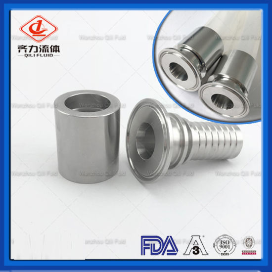 Stainless Steel 304 Sanitary Hose Barb Tri Clamp Hydraulic Sanitary Hose Fitting