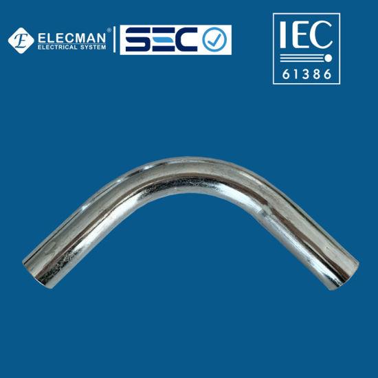 IEC EMT Elbow Electro Galvanized