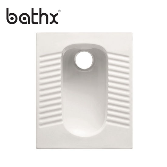 Durable Flush Value Medium Deep Sanitary Ware Made in China Squtting Pan (PL-P308)
