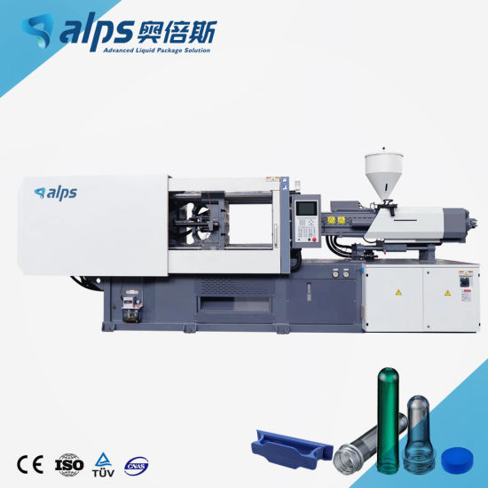 Plastic Pet Preform Injection Molding Machine for Water Beverage CSD Juice Drinking Bottle Material Tube Capsule and Cap Moulding Making Plant