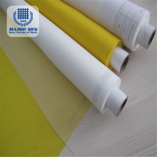 120t-34 305mesh Polyester Silk Fabric Screen Printing Mesh