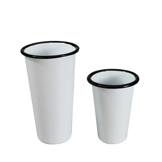 Best Selling Promotional Factory Wholesales Travel Blank Coffee Cup Camper Sublimation Enamel Mug