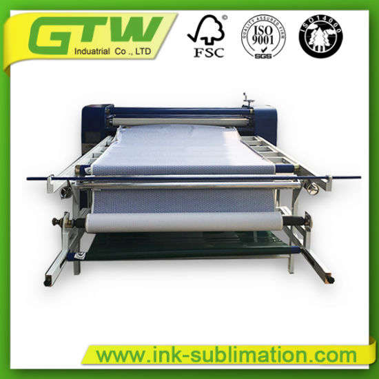 Roller Heat Press Transfer Machine for Dye Sublimation Printing