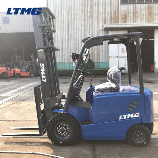 Ltmg Mini Electric Forklift 2.5 Ton Electric Forklift with Optional Attachment