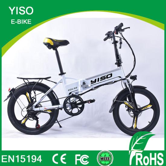 Wholesale 250W-500W Aluminium Electric Mountain Bicycle E Bike with Hidden Battery