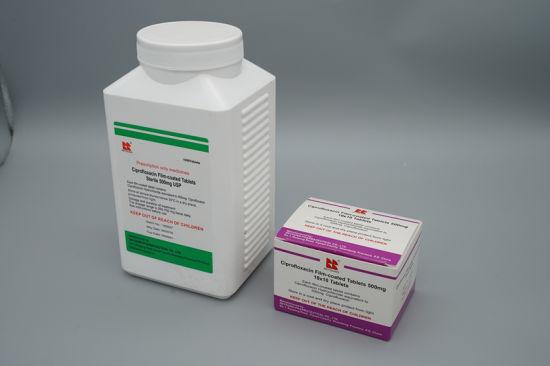 Ciprofloxacin Film-Coated Tablets GMP