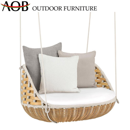 Excellent Modern Outdoor Patio Garden Furniture Backyard Balcony Leisure Rope Woven Hanging Swing Chair Gmtry Best Dining Table And Chair Ideas Images Gmtryco