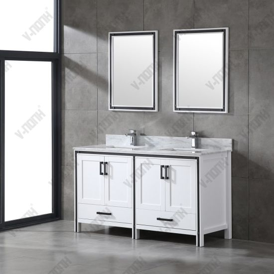 China Large Storage Space White, Large Bathroom Vanity Cabinets
