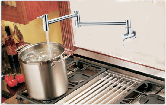Stainless Steel Pot Filler Kitchen Cold Water Wall Mounted Faucet pictures & photos