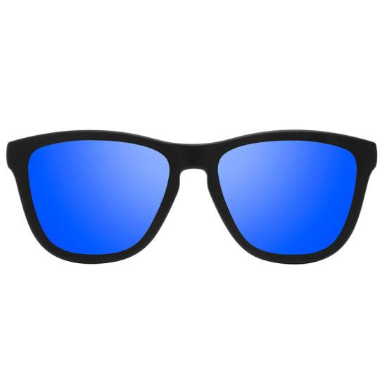 a37e307bce9 China Custom Logo PC Frame Polarized Sunglasses 100% UV Protection ...