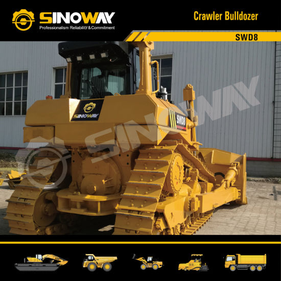 Sinoway Bulldozer Swd8 with 360HP Cummins Engine pictures & photos