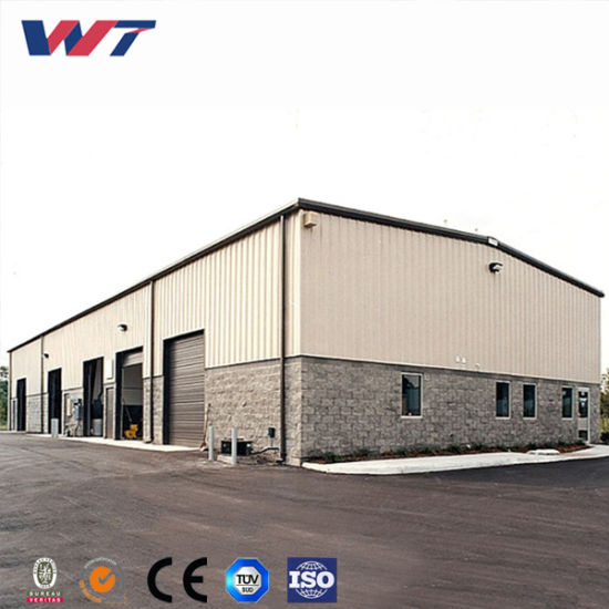 China Q345 or Q235 Multi-Storey Prefabricated Structural Steel Frame ...