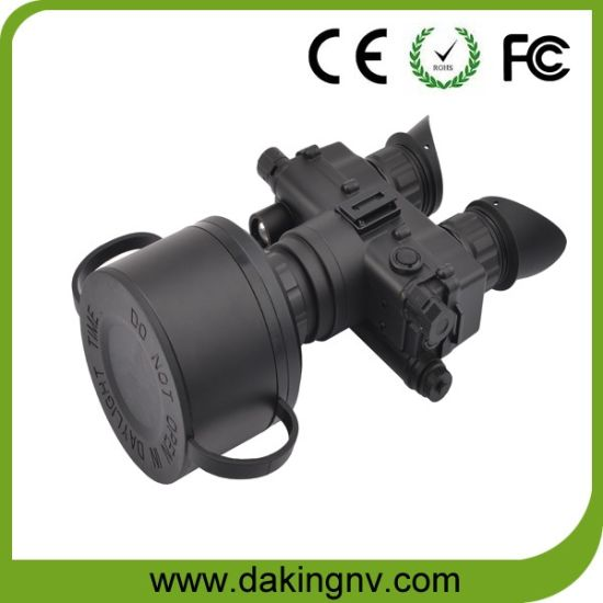 Gen2+ Night Vision Goggles / Binoculars with Adjustable Eyepiece and Video Output D-G2075 (with 5X Lens) pictures & photos