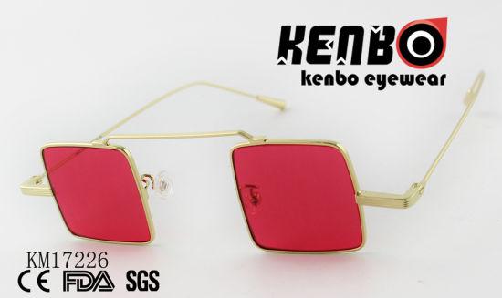 9ce86de07910 China Smart Square Sunglasses Without Bridge Km17226 - China ...
