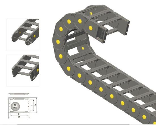Plastic Chain-- Inner Separator pictures & photos
