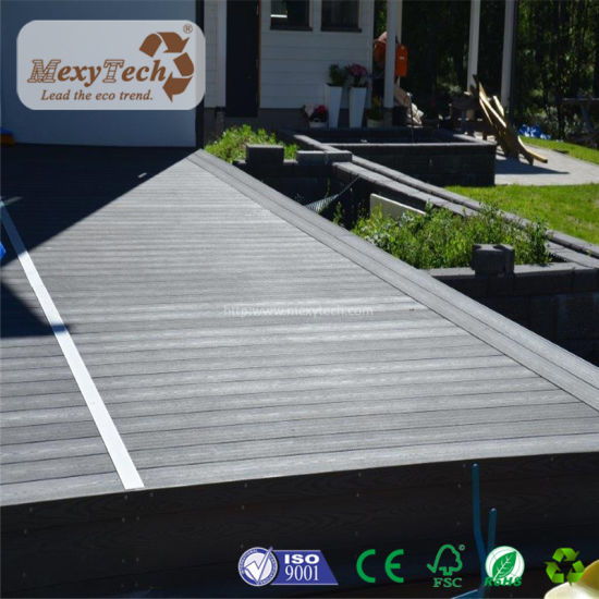 Wholesales New Easy to Installation Wood Plastic Composite Decking for Floor