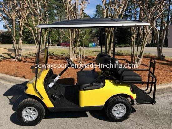 Best Selling Nice Shape Ezgo Valor - Gas - Yellow Golf Cart