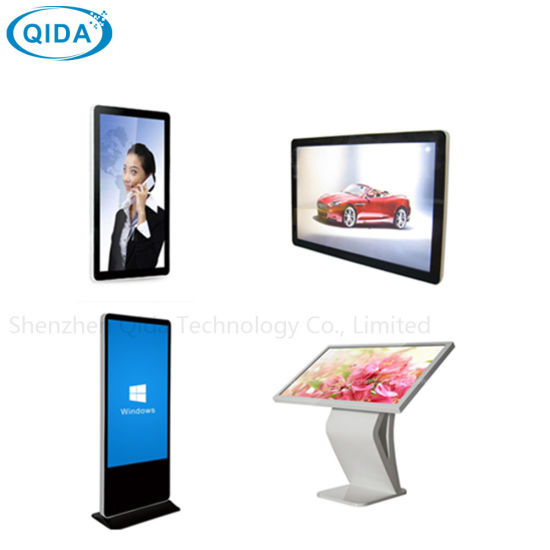 Indoor Ad/Ads/Advertising Media 49inches High Definition Touch Screen LCD Display