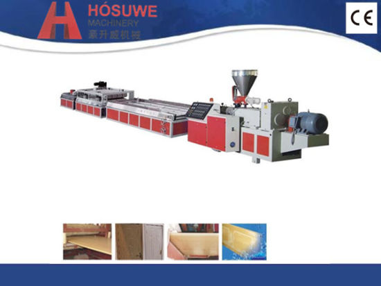 WPC Wood Plastic Composite Board Extruder pictures & photos