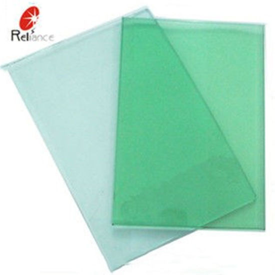 F-Green Color High Quality Tinted Glass Certify by SGS pictures & photos