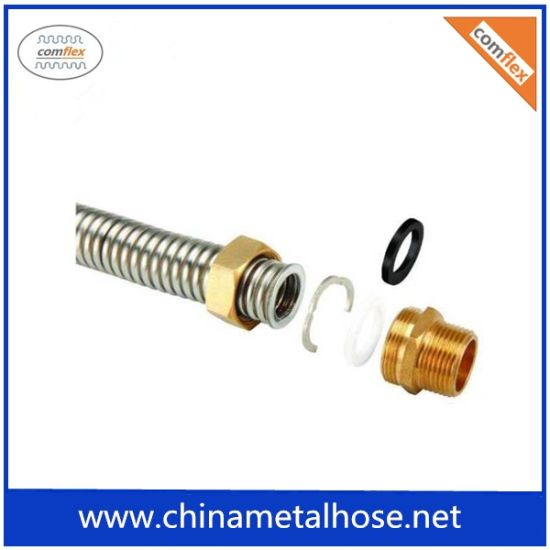 Stainless Steel Flexible Metal Gas Hose with Braiding