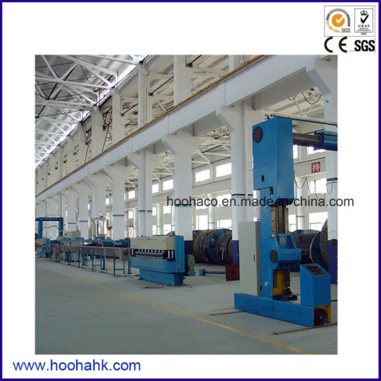 Power Cable and Insulation Sheath Extrusion Machine pictures & photos