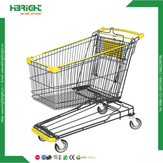 Retail Price Grocery Cart Supermarket Shopping Trolley pictures & photos