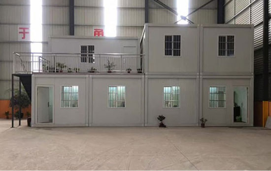 High Quality 20/40FT Container House Prefab House (same as Wuhan Fire God Mountain hospital)