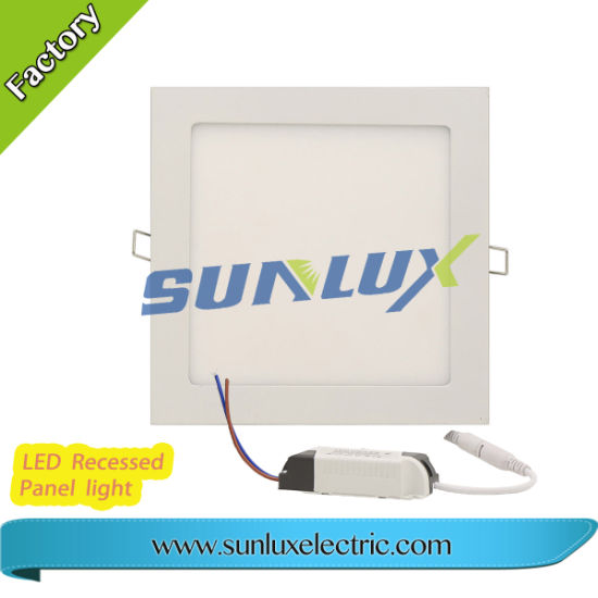 Sunlux Side Light Recessed Panel Light 3W 6W 9W 12W 18W 24W 85V-265V 2 Years Warranty pictures & photos