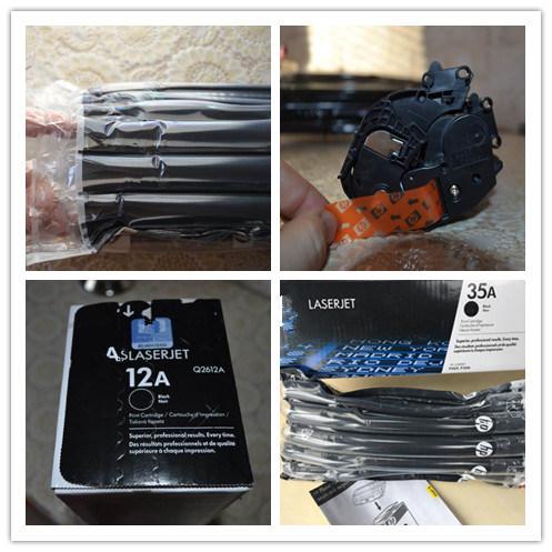Color Toner Cartridge Ce310A-Ce313A Used on Cp1025 126A Toner