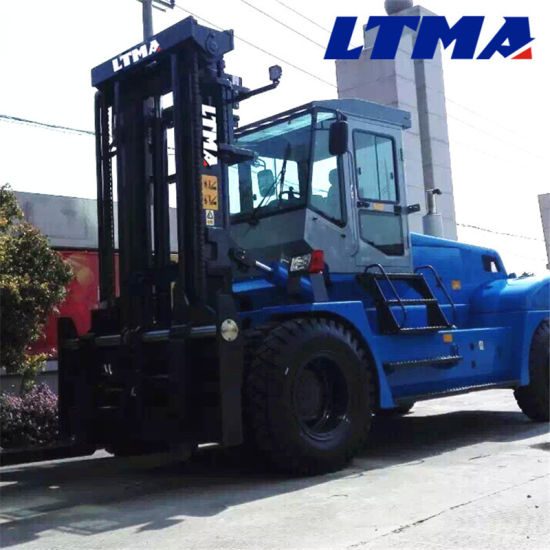 14 Ton 15 Ton Diesel Hydraulic Cylinder Forklift with Cabin pictures & photos