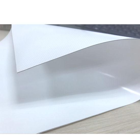 2.5m Acrylic Lacquered Flame Retardant 850GSM PVC Blackout Tarpaulin Materials